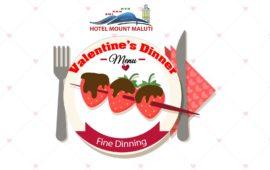 VALENTINE'S DINNER MENU 2019 – Lesotho